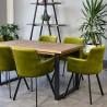 Krzesło Viktoria Loft tapicerowane