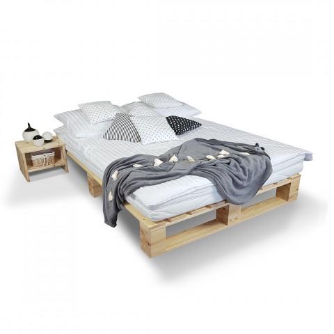 Łóżko Loft Sosnowe 90x200