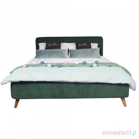 Łóżko Green Tapicerowane